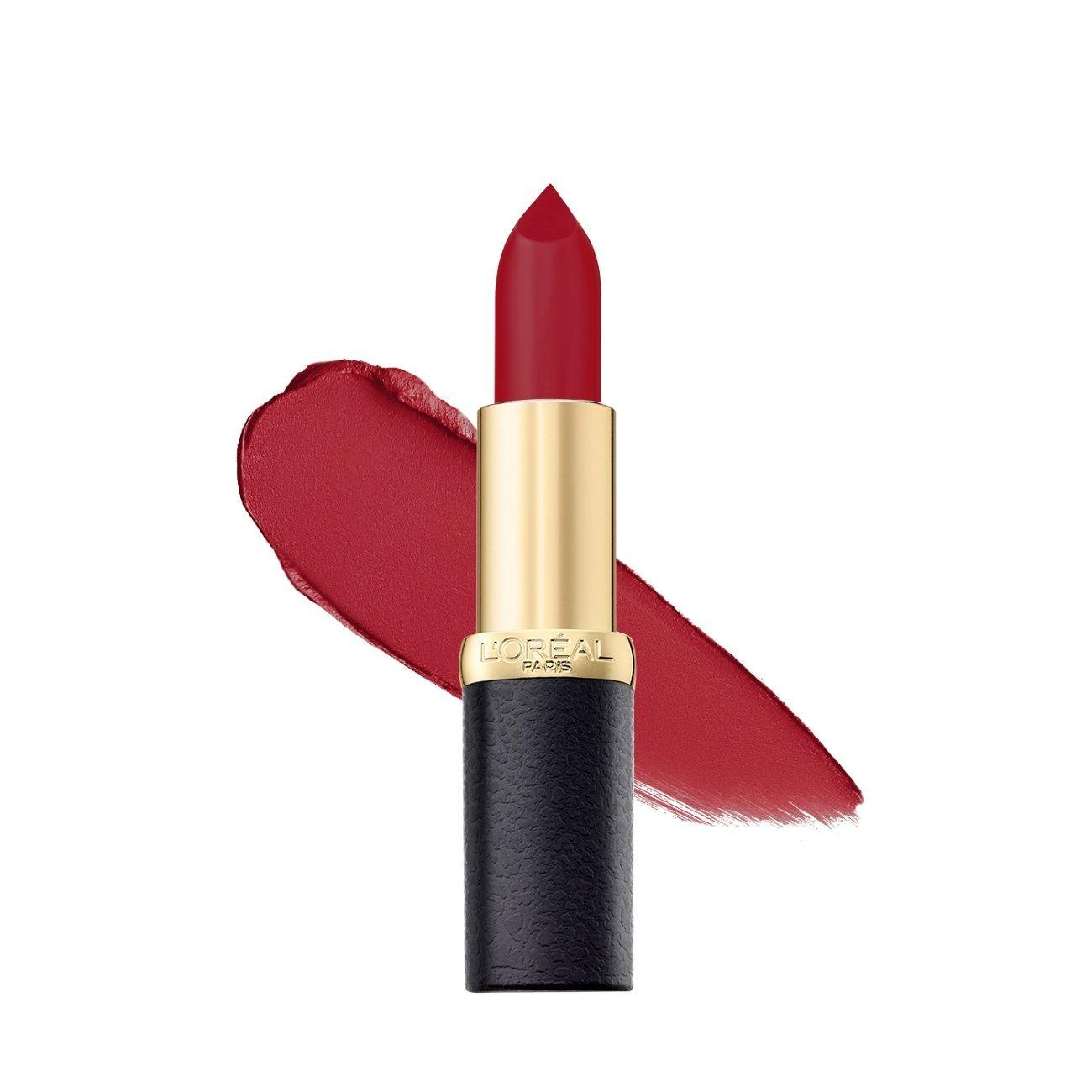 L&39;Oreal Paris Color Riche Moist Matte Lipstick - 266 Pure Rouge
