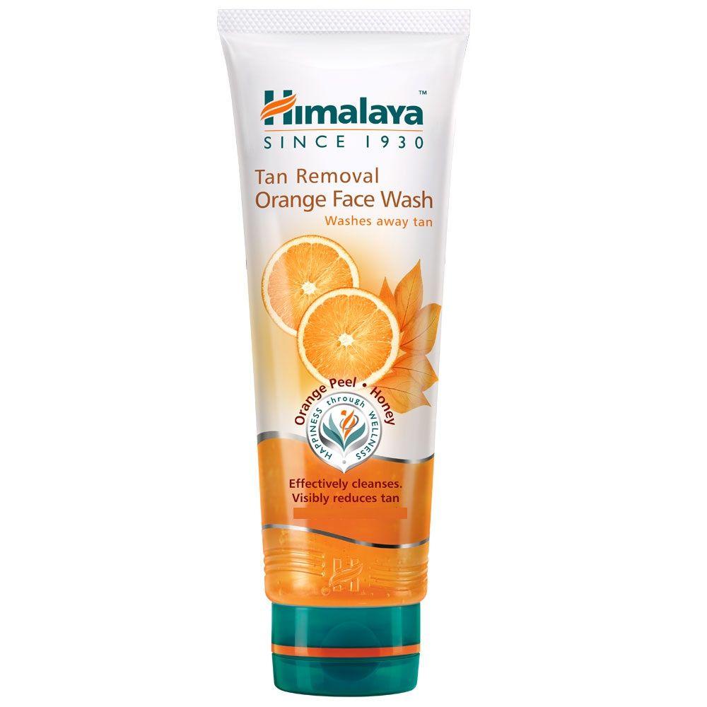 d8e335a59f0da Himalaya Herbals Tan Removal Orange Face Wash at nykaa.com