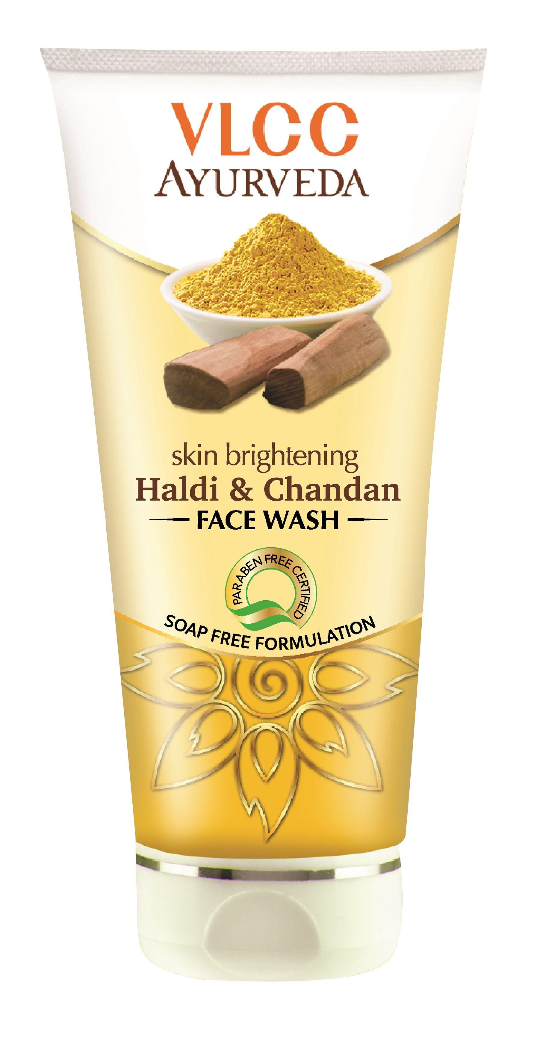 Vlcc Ayurveda Skin Brightening Haldi Chandan Face Wash Buy Vlcc