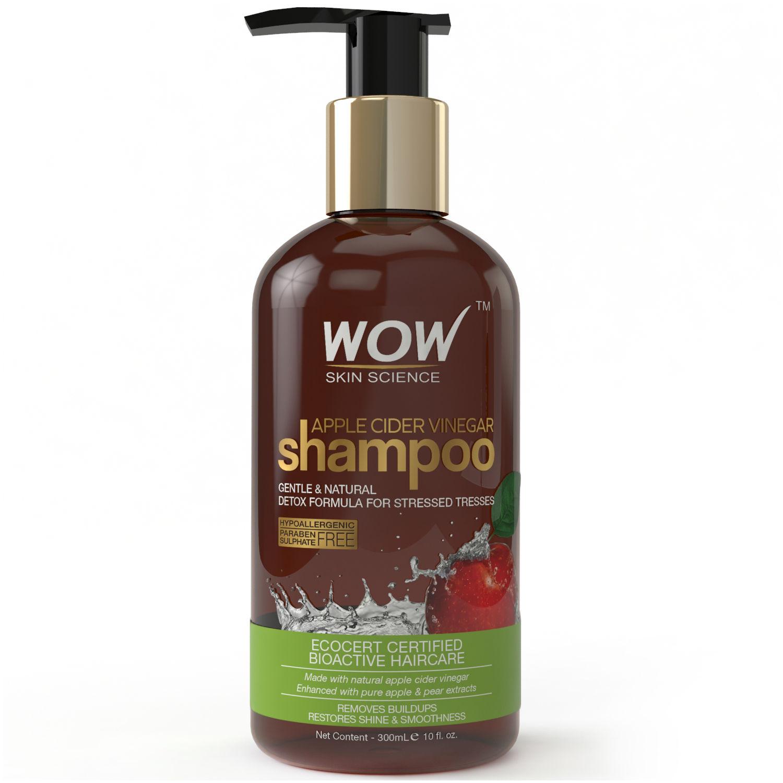 WOW Skin Science Apple Cider Vinegar Shampoo Sulphate Paraben Free