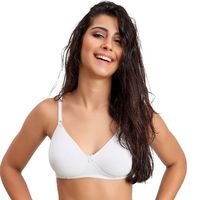 Juliet Soft Foam Molded Cup T-shirt Bra - White