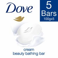 Dove Cream Beauty Bathing Soap (Buy 4 Get 1)