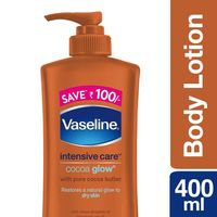 Vaseline Intensive Care Cocoa Glow Body Lotion Save Rs. 100