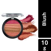 Lakme Absolute Illuminating Blush Shimmer Brick - In Pink