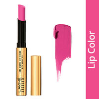 Lakme Absolute Luxe Matte Lip Color With Argan Oil - Freshly Pinked