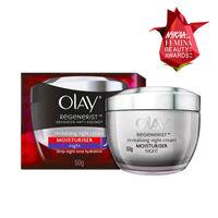 Olay Regenerist Advanced Anti-Ageing Revitalizing Night Skin Cream Moisturier