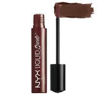 NYX Professional Makeup Liquid Suede Metallic Matte Cream Lipstick - Neat Nude