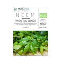 Mirabelle Korea Neem Essential Facial Sheet Mask