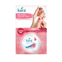 Kara Nail Polish Remover Wipes Rose