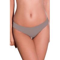 Amante Vanish Grey No-Show Bikini Panty