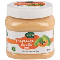 Zerb Papaya Face Body Scrub