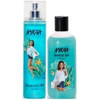 Nykaa Fresh Aqua Combo - Fragrance Mist & Shower Gel