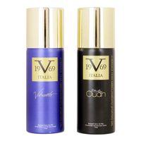 Versace 19.69 Abbigliamento Sportivo SRL Prive Oudh + Vibrante Deodorant Gift Set For Men