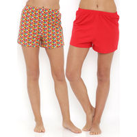 Heart 2 Heart Set of 2 Shorts - Snail