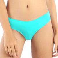 Candyskin Seamless Panty With Lace (Teal)