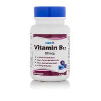 HealthVit B12 500Mcg For Vitamin B12 Deficiency 60 Tablets