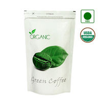 NutraVigour Organic Green Coffee Beans (Decaffeinated & Unroasted)