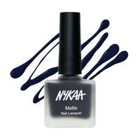 Nykaa Matte Nail Enamel - Sapphire Dreams 115