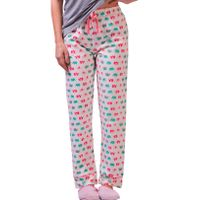 De-Nap Elephant Print Pyjamas - Multi-Color