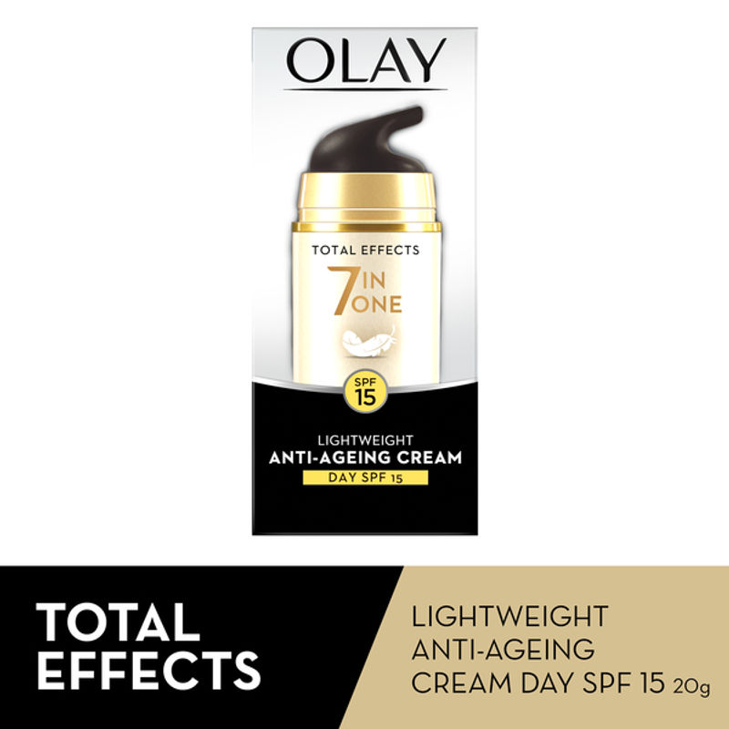 Olay Total Effects 7 In One Light Weight Anti-Ageing Cream Day SPF 15 - 4902430739429
