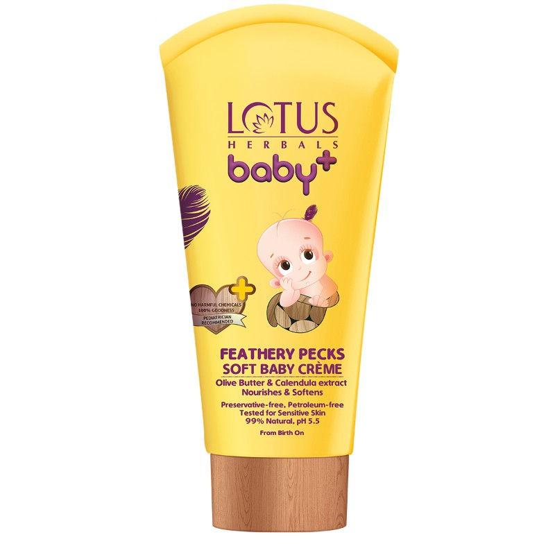 Lotus Herbals Baby + Feathery Pecks Soft Baby Crème