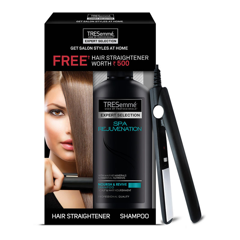 Buy Tresemme Spa Rejuvenation Shampoo 580 Ml & Get Hair Straightener Worth Rs. 500 Free