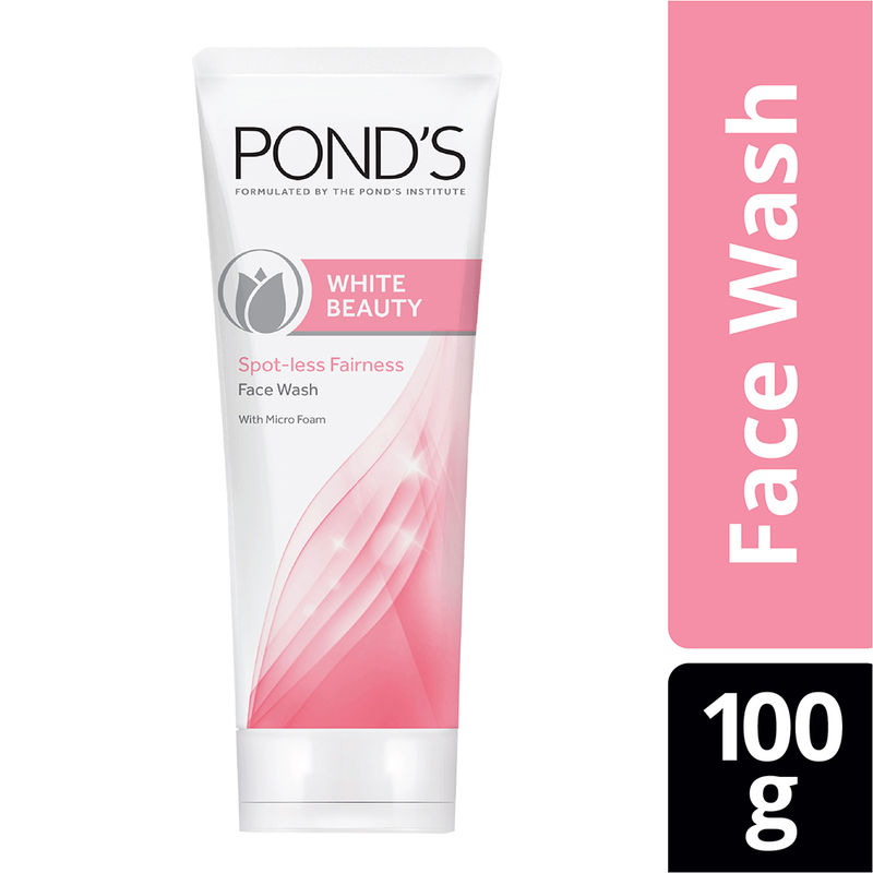Ponds White Beauty Daily Spot-Less Lightening Facial Foam