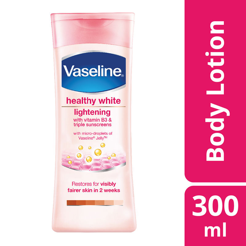 Vaseline Healthy White Lightening With Vitamin B3 & Triple Sunscreens Lotion