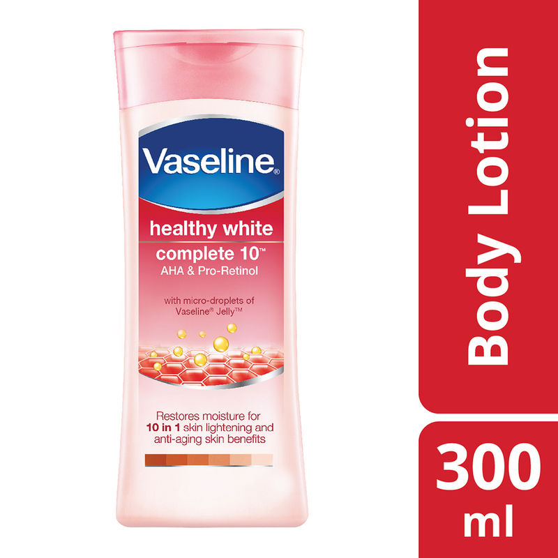 Vaseline Healthy White Complete 10 AHA & Pro-Retinol Body Lotion