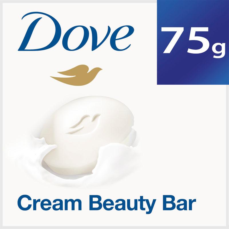 Dove Cream Beauty Bathing Bar + 33% Extra