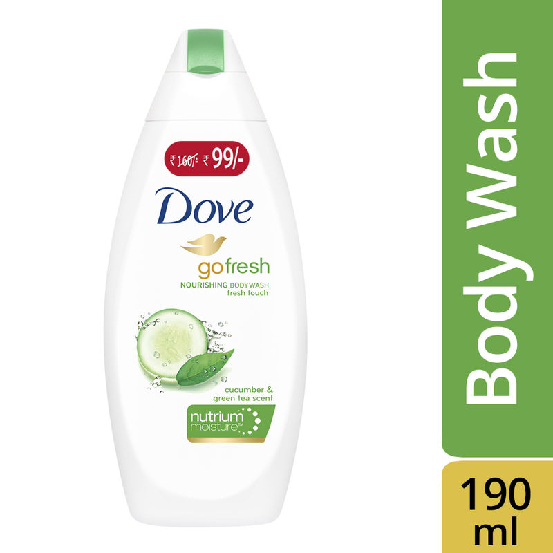 Dove Go Fresh Nourishing Body Wash Now At Rs. 99/-