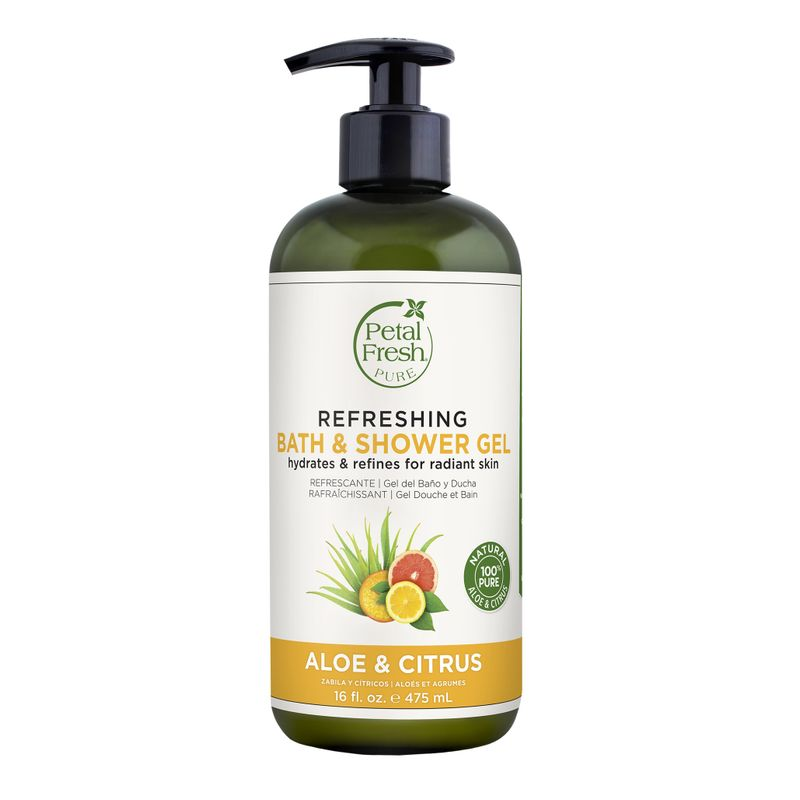 Petal Fresh Pure Aloe & Citrus Refreshing Bath & Shower Gel