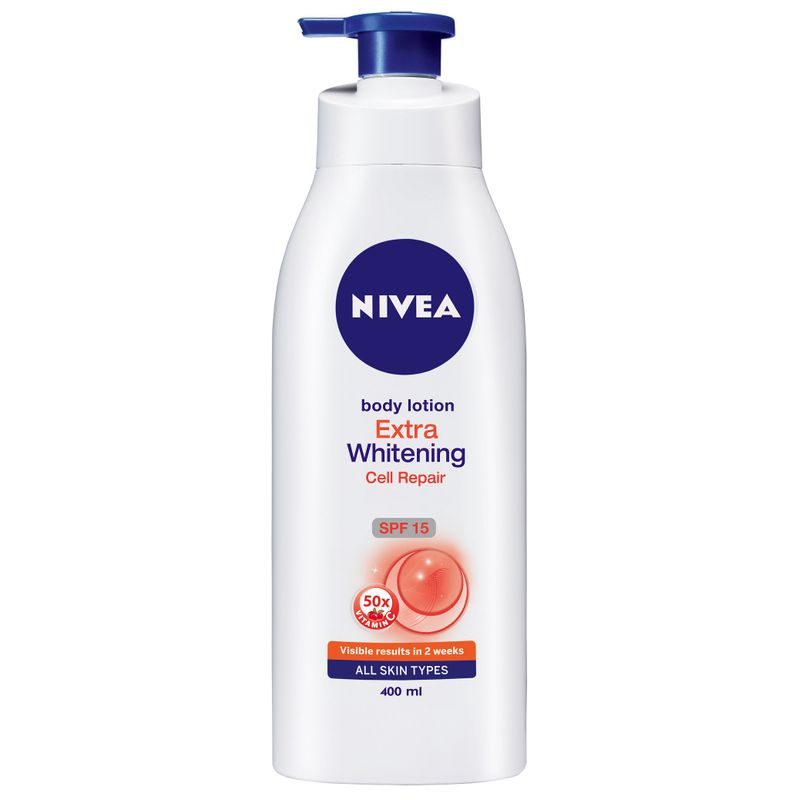 Nivea Extra Whitening Cell Repair SPF 15 Body Lotion