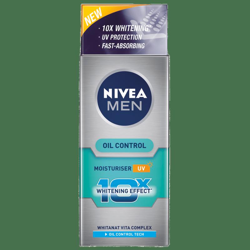 Nivea For Men Whitening 10X Oil Control Moisturiser