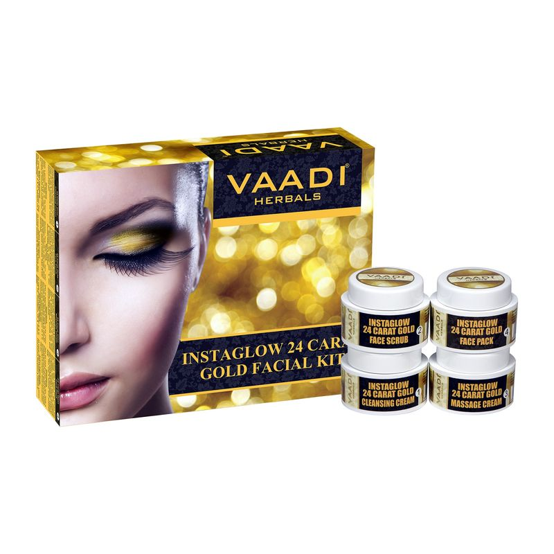 Vaadi Herbals 24 Carat Gold Facial Kit