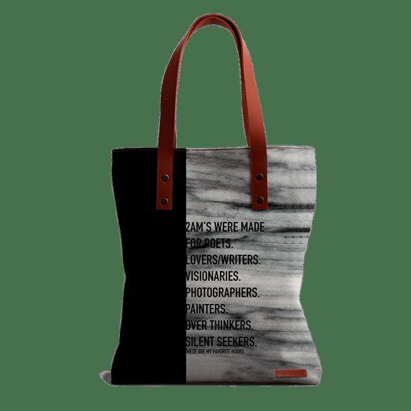 78d9f8154e86 DailyObjects 2Ams Tote Bag at Nykaa.com