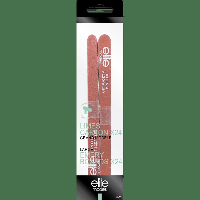Elite Models (France) Large Nail Filer Emery Board (24 Pc Set)