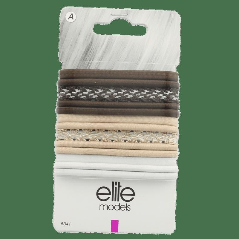 Elite Models (France) Fashion Ponytail Hair Rubber Bands (13 Pc Set) - Multi