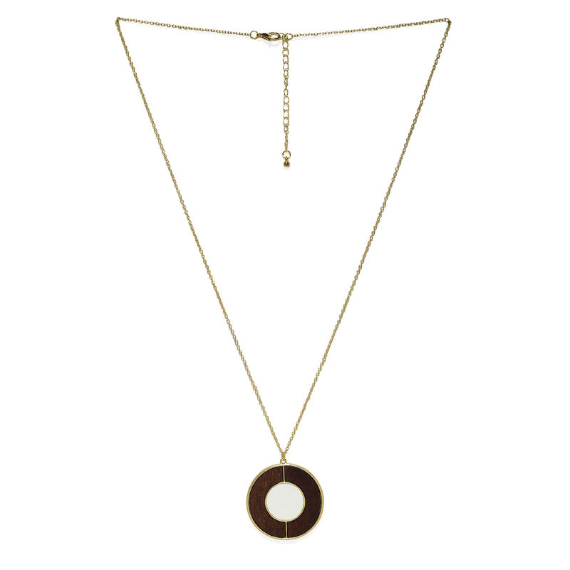 631dbf5342f Tipsyfly Coaxial Gold Color Necklace at Nykaa.com