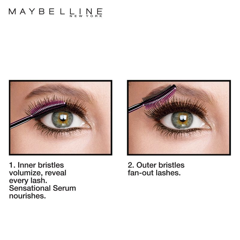Maybelline New York Mascara - Buy Maybelline Lash Sensational Waterproof Mascara @ Best Price