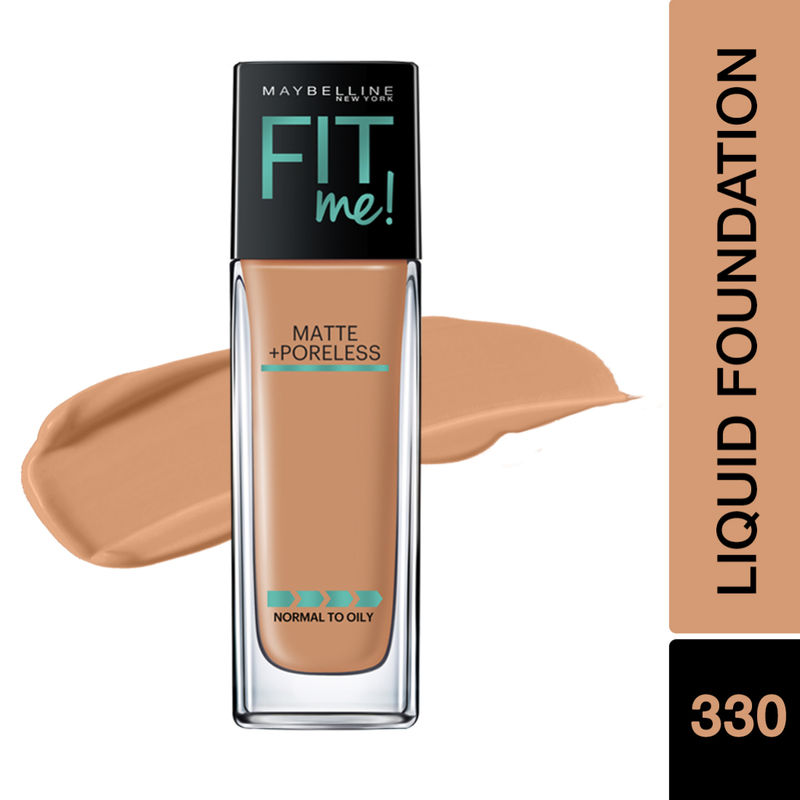5880c723ef7a Maybelline New York Fit Me Matte + Poreless Foundation - 330 Toffee(30ml)