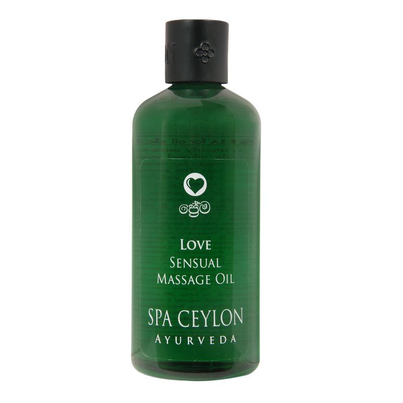 Spa Ceylon Luxury Ayurveda Love Sensual Massage Oil