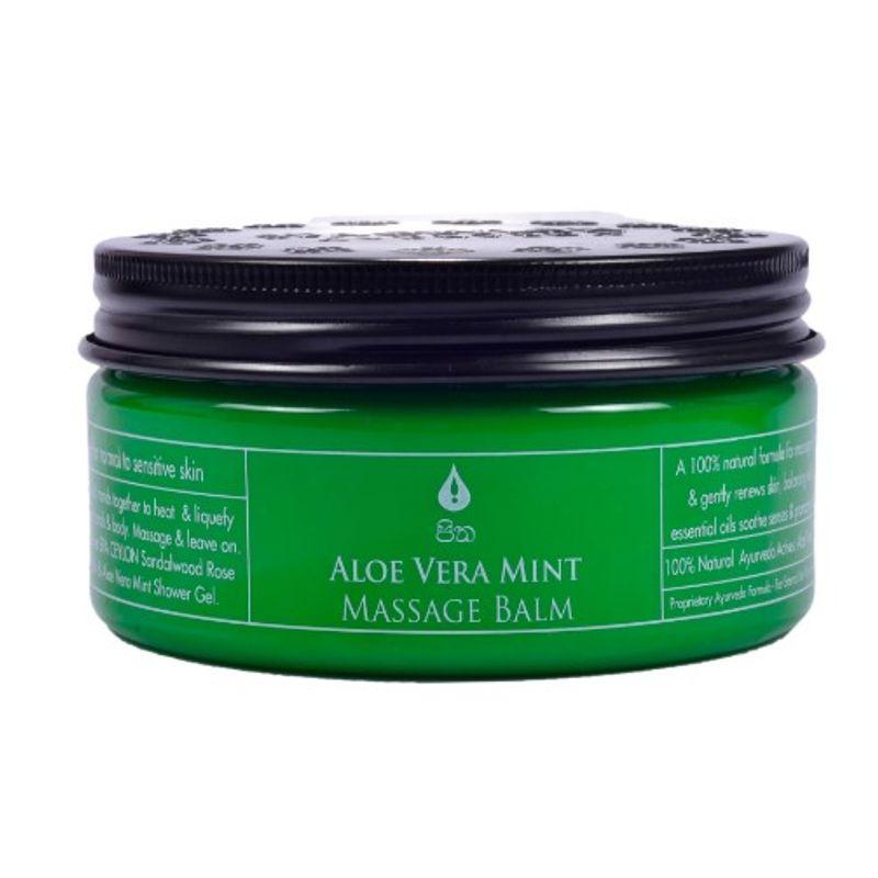 Spa Ceylon Luxury Ayurveda Aloe Vera Mint Massage Balm