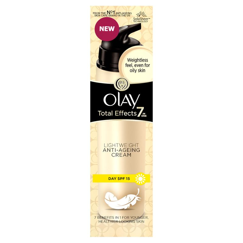 Olay Total Effects 7 In One Light Weight Anti-Ageing Cream Day SPF 15