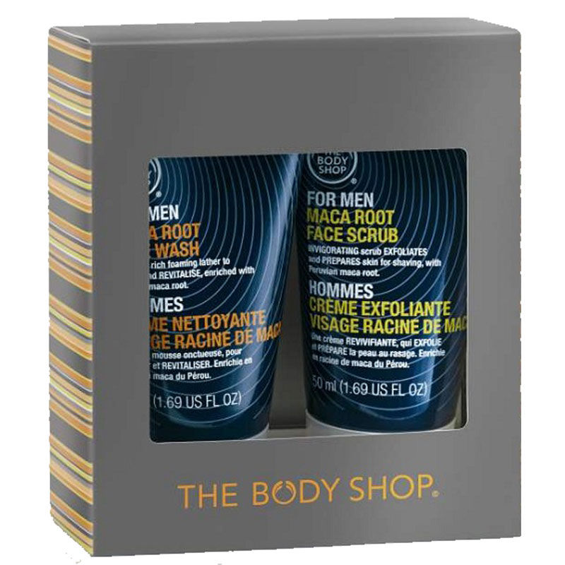 The Body Shop For Men Maca Root Cleansing Duo