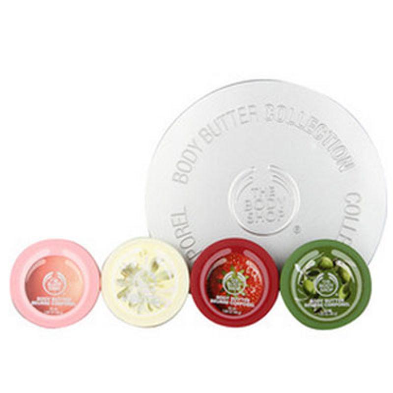The Body Shop Gift Tin Body Butter Mini Fruit