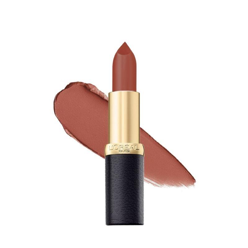 LOreal Paris Color Riche Moist Matte Lipstick - 202 Maple Mocha
