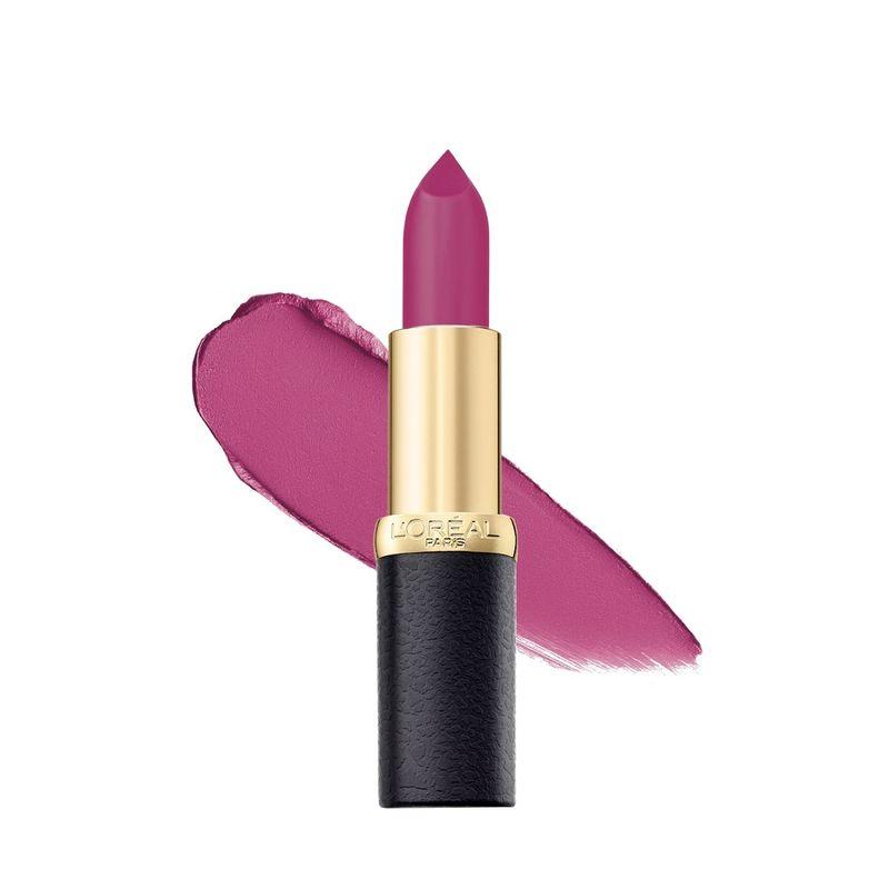 L'Oreal Paris Color Riche Moist Matte Lipstick - 206 Glamour Fuschia