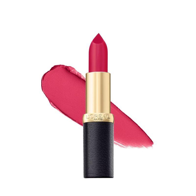 L'Oreal Paris Color Riche Moist Matte Lipstick - 214 Raspberry Syrup