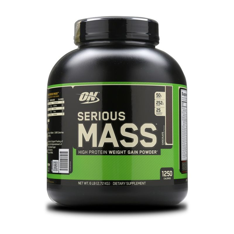 Optimum Nutrition (ON) Serious Mass Gainer (Chocolate)